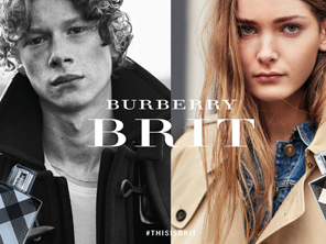 Burberry Brit Fragrance Campaign by Brooklyn Beckham