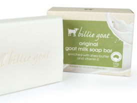 Billie Goat Soap Collection