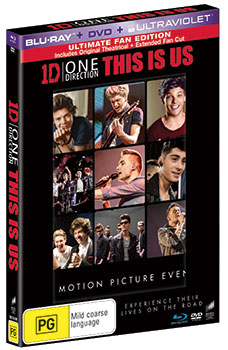 One Direction: This is Us DVDs