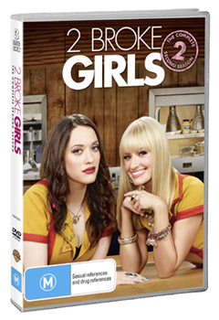 2 Broke Girls The Complete Second Season DVD