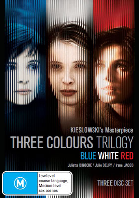 Three Colours Trilogy DVD