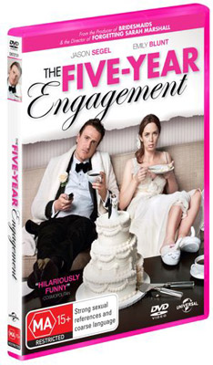 Five Year Engagement DVDs