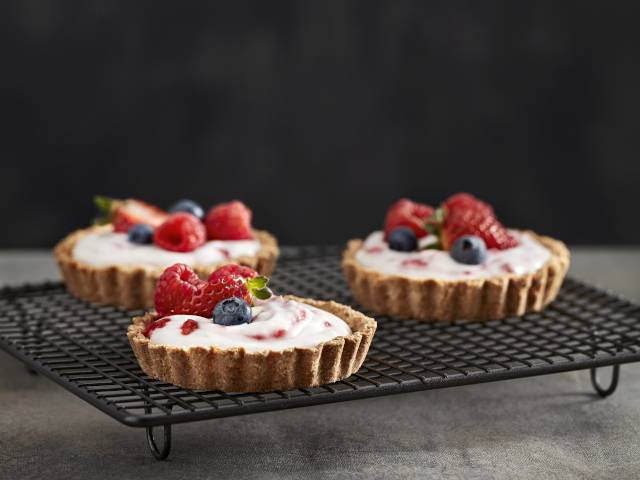 Vegan Berry Tarts