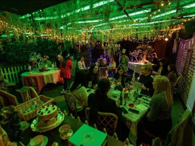 Boozy Mad Hatters Tea Party