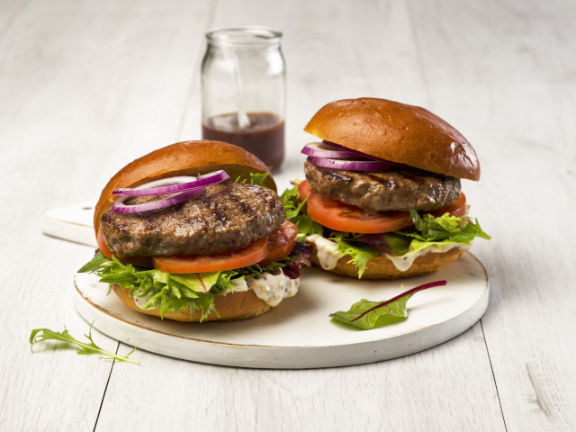 Classic Cleaver's Beef Burger