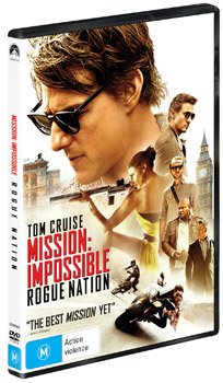 Mission: Impossible Rouge Nation DVD