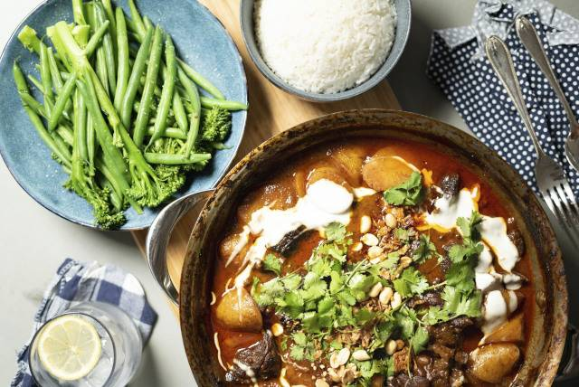 Matt Sinclair's winter warming Massaman Curry