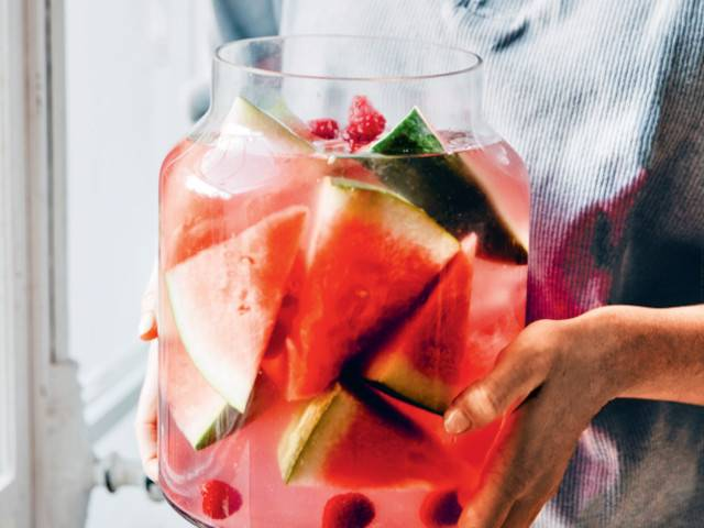 Pink Lady, a booze-free summer boost