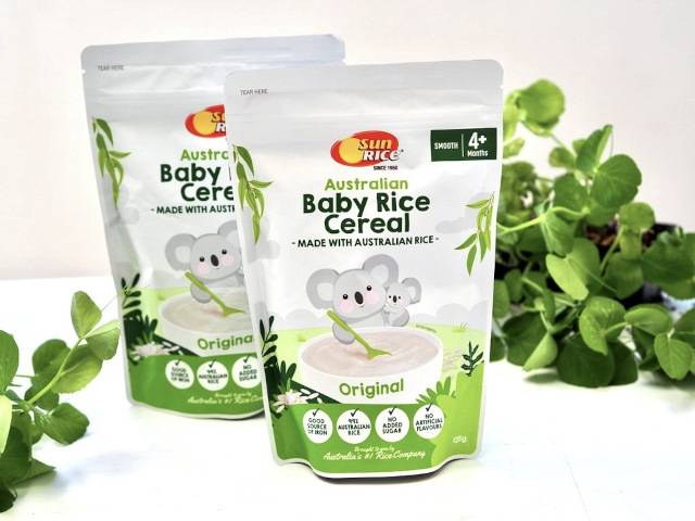 New Baby Rice Cereal