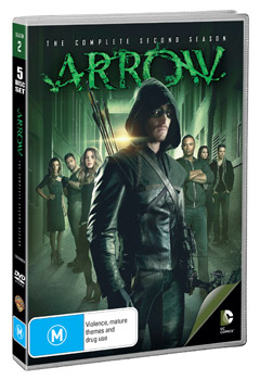 Arrow: The Complete Second Season DVD