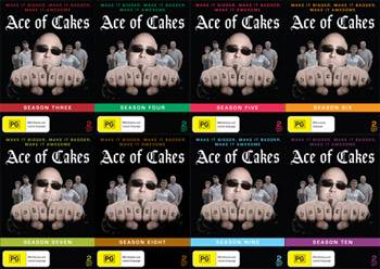 Ace Of Cakes Seasons 3 - 10 DVD