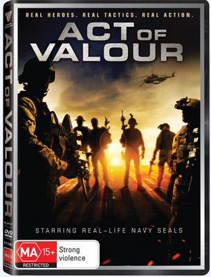 Act of Valour DVD
