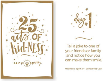 Acts of Kid-ness Advent Calendar