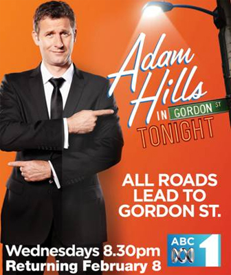 Adam Hills in Gordon St