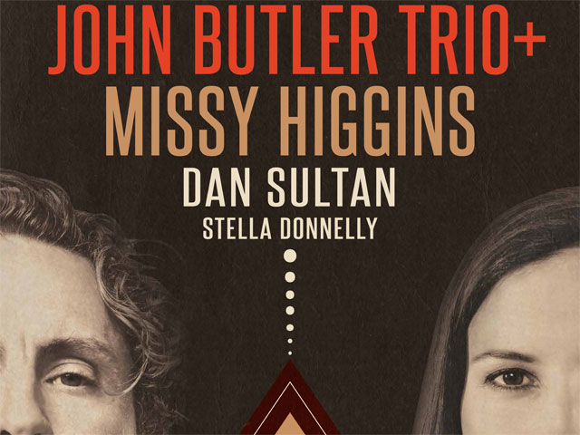 John Butler Trio and Missy Higgins Coming Home Tour