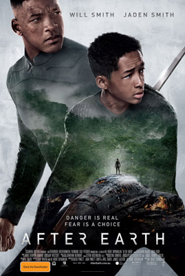 Jaden Smith and Will Smith After Earth