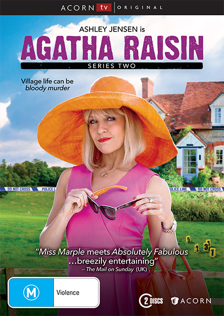 Agatha Raisin Series 2 DVDs