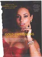 Alicia Keys to say no to dirty gold mining
