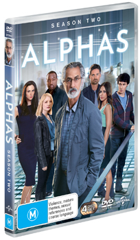 Alphas Season 2 DVD