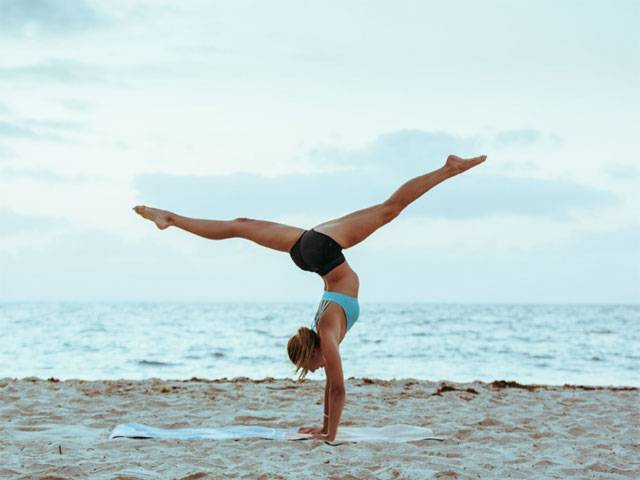 Amanda Bisk Blackmores 'Be A Well Being' Yoga Festival Interview