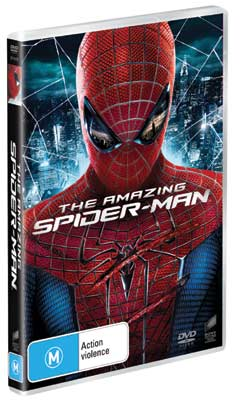 The Amazing Spiderman DVDs