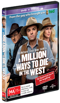 Sarah Silverman A Million Ways to Die in the West DVD