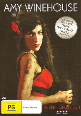 Amy Winehouse Never Forgotten DVD