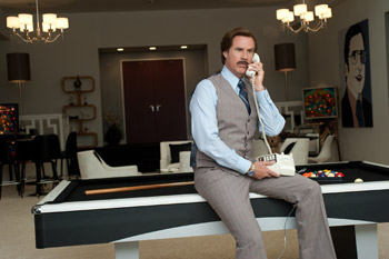 Will Ferrell and Christina Applegate Anchorman 2: The Legend Continues
