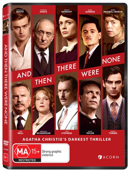 Agatha Christie's And Then There Were None DVD