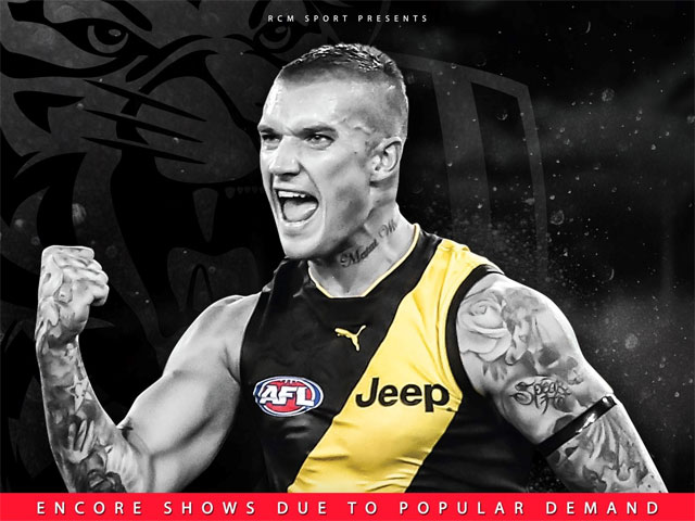 An Evening with Dustin Martin
