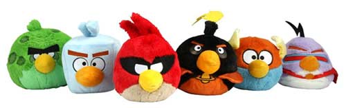 All Angry Birds Plush Toys : Angry birds plush toys