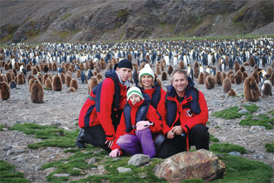 Travel to antarctica with nobel prize winning geophysicist for Best way to travel to antarctica