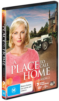 A Place to Call Home Season 2 DVDs