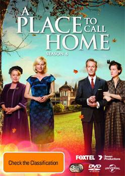 A Place To Call Home Season 4 DVD