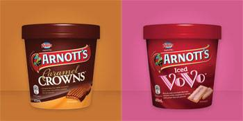 Peters and Arnott's Ice-cream Collabortation