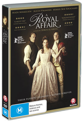 A Royal Affair DVD