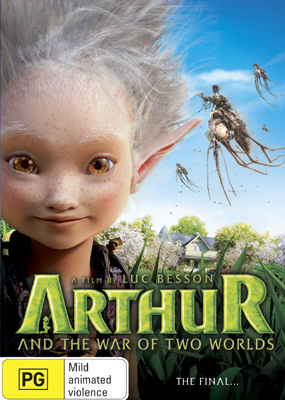 Arthur & The War of Two Worlds DVD