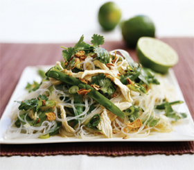 Asian Lime Chicken Salad