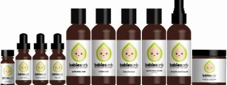 Babies Only Organic Skin Care Baby Balm & Tummy Tonic