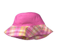 Baby Gap Reversible Plaid Sun Hat
