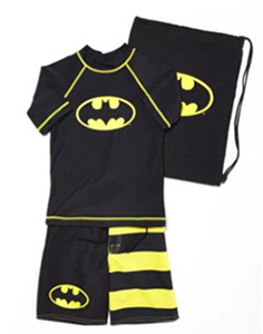 Batman Swim Suit Set