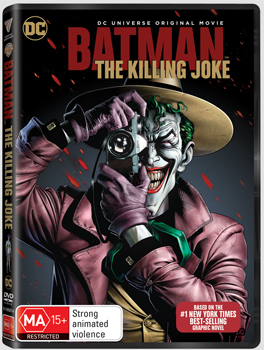Batman: The Killing Joke DVD