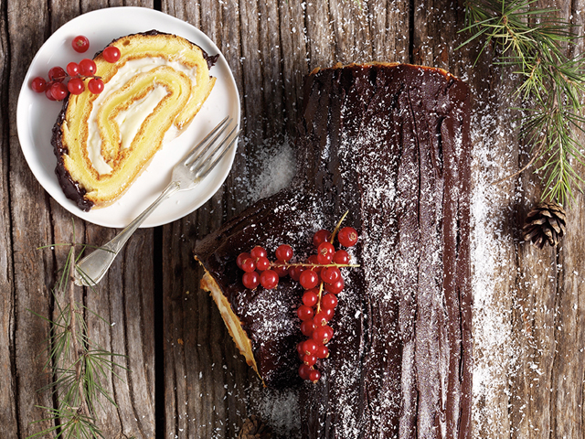 Buche de Noel (Christmas Log)