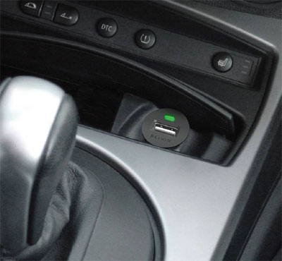 Charge Your iPod and iPhone in your car