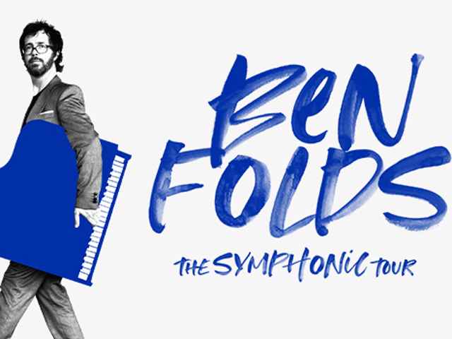 Ben Folds with the MSO
