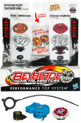 Beyblade Metal Masters Performance Top Battle