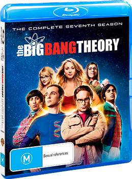 The Big Bang Theory: The Complete Seventh Season DVD