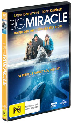 Drew Barrymore Big Miracle DVD Interview