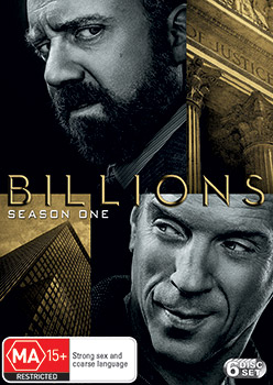 Billions Season 1 DVD
