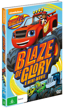Blaze and the Monster Machines: Blaze of Glory - A Mini-Movie DVD